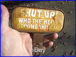 Original 1920 s- 1930s Vintage License plate Topper auto car old Ford gm chevy