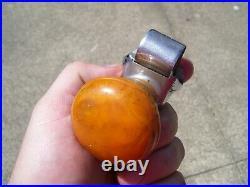Original 1940 s- 1930s Vintage FULTON steernob auto spinner Ford gm chevy knob