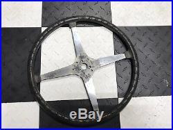 Original 1940s 17 Bell Auto Parts Sprint Car Steering Wheel Rat Rod TROG SCTA