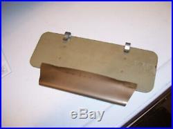 Original 1959 GM Chevrolet Accessory Comb Pocket Mirror Vintage auto part