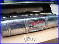 Original 40s nos Hudson motor co. Auto accessories Tissue dispenser vintage part