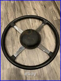Original BELL AUTO PARTS 17 Steering Wheel Race Sprint Car Vintage SCTA TROG