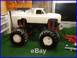 Original Vintage Tamiya 1/10 Scale Clod Buster Monster Truck