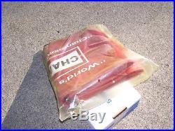 Original vintage 60s nos mint CHAMPION SPARKPLUGS fender cover gm auto parts amc
