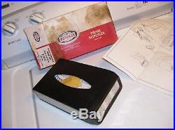 Original vintage nos Ford rotunda Tissue dispenser auto accessory 60s mustang gt