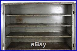 P&D Genuine Ignition Parts Vintage Cabinet Auto Car Caps Coils Metal Cupboard