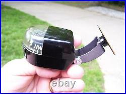 RARE Vintage GM Chevy automobile accessory Compass Gauge BOWTIE 1960s Camaro z28