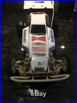 RARE Vintage Team Associated Rc10 #6010 A stamp gold pan withbox EAST EDINGER