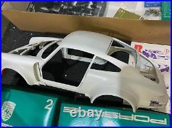 RARE Vtg TAMIYA Porsche Turbo RSR Type 934 Remote Control 112 Sports Car PARTS