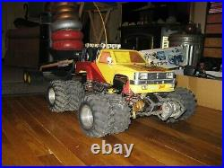 RC Truck Kyosho Big Brute Car Crusher/Pulling Truck More to explore Kyosho RC C