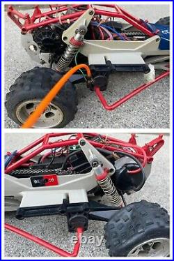 Rare Vintage 1980's Marui Samurai 1/10 RC Buggy Car 4WD Chain Drive