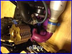 Rare Vintage HPI MT RS4 O. S Max 15CV Carbon Fiber Nitro MIP 4x4 RACE truggy