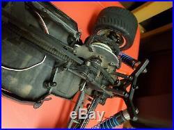Rare Vintage Hpi rs4 mt 4wd electric truck roller