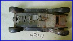 Rare Vintage Structo Stutz Bearcat Mechanical Car, Rough (PARTS or REPAIR)