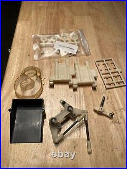 Rare Vintage Team Associated Rc-10 Old Gold Pan Buggy Parts Car With Extras