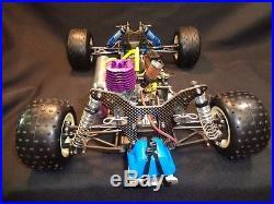Rc Vintage Team Associated Rc10 Gt Nova Rossi Used