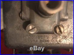 Stomberg EE-22 V 12 Packard Older Vintage Car Parts