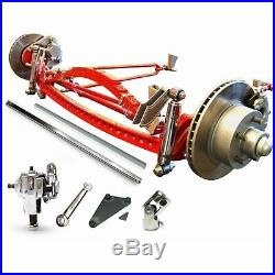 Super Deluxe Hair Pin Drilled Solid Axle Kit Fits RHD 1933-1934 Early Ford