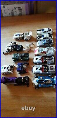 Takara Vintage Transformers G1 Diaclone Scrap Car Robot Figure Lot for Parts