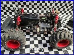 Tamiya Blackfoot RC Car Truck with charger and batteries VINTAGE
