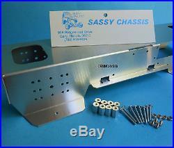 Tamiya Clod Buster Sassy Chassis Aluminum NIP Vintage RC Part