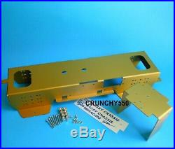 Tamiya Clodbuster Sassy Chassis Anodized Gold Aluminum NIP Vintage RC Part