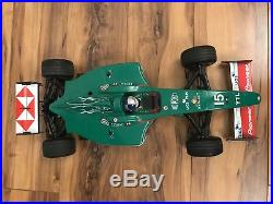 Tamiya F201 Rare Jaguar Brushless Upgraded 1/10 Vintage RC F1