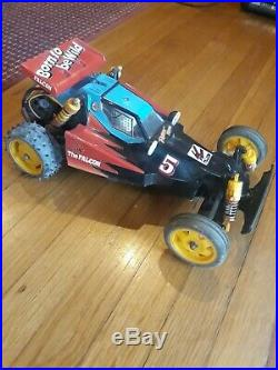 Tamiya Falcon Rc Car vintage rc buggy All Upgraded Brushless