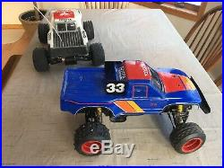 Tamiya Toyota Hilux Monster Racer RC Truck 58086 Box CIB Vintage Lot 1990