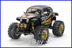 Tamiya Vintage 58060 Monster Beetle RC Monster Beetle Black Edition Kit TAM47419