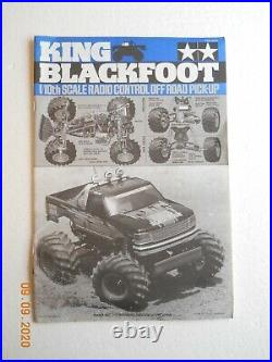 Tamiya Vintage King Blackfoot 1997