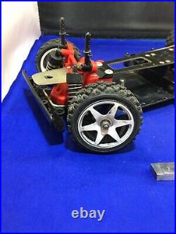 Tamiya Vintage Ta01 Ta02 Frp Chassis Rc Car Spares Parts Clean Working Set
