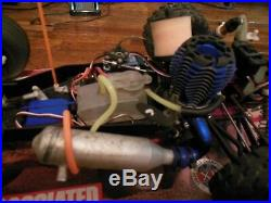 Team Associated RC10GT Vintage Black Frame RC #7057 3.3 TRX Engine Ready To Run