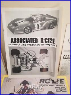 Team Associated RC12E Vintage pan car (rc12i rc12l) opened box