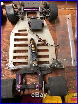 Team Associated Vintage RC 10L Pan Car LOT