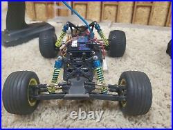 Team losi mini t, vintage 1/18 custom parts