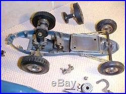 Tether Car with Vintage Parts Lot Project