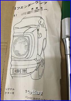 Toyota Parking Pole (TOYOTA VINTAGE CARS)OEM JDM Genuine Parts ULTRA RARE