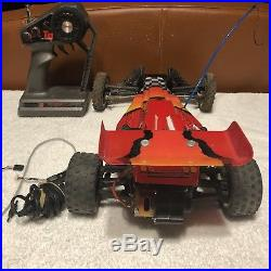 Traxxas Bandit Vintage RC Buggy Car with Radio Transmitter