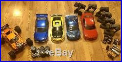Traxxas Hpi Huge Vintage Nitro Car Lot Rs4 4tec Firestorm Drift, Touring Car
