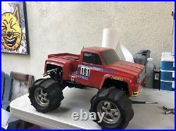 Traxxas Tmaxx vintage rc truck 2wd roller T Max Maxx Nitro. 15 Gas Power Rc