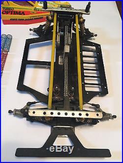 USED Vintage Kyosho Ultima Optima Lazer Car Lot 1/10 scale Offroad JG oval