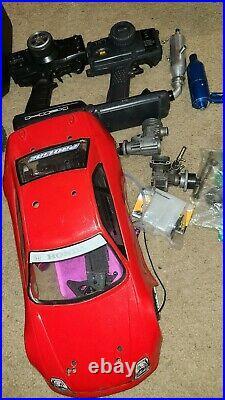 Used HPI RS4 3 parts vintage rc car nitro make a offer