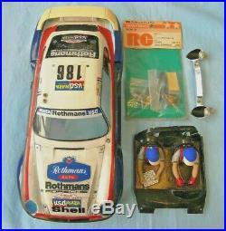 Used Vintage 80's 1/12 Tamiya Porsche 959 Body Shell