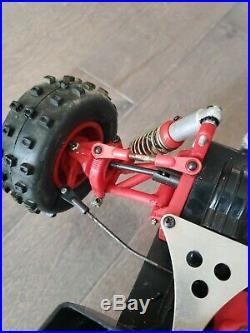 Used Vintage Hirobo RC Rockn City 44b Belt Drive 4WD Buggy