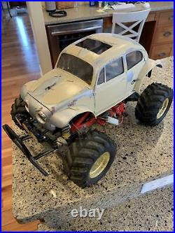 Used Vintage Original Tamiya Monster Beetle rc car truck