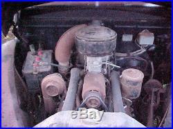 VINTAGE 1941 41 FORD 2 DOOR PARTS CAR GRILLE ENGINE HEATER RAT ROD 40s 46 47 48