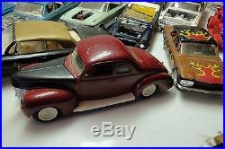 Vintage Lot Model Car Lot As Is Parts Or Repair 124 125 1960's