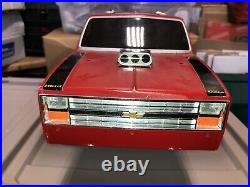 VINTAGE TAMIYA Clod Buster Body Bowtie Grill Chevy Chevrolet Tailgate DECAL NICE