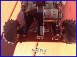 VINTAGE TAMIYA FROG 1983 Ultra Rare Complete Mod Motor Works Tested